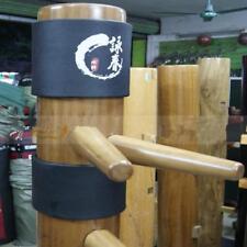 Maniquí Cabeza Almohadillas Elástico Chaqueta Madera Para Kung Fu Marcial Dos