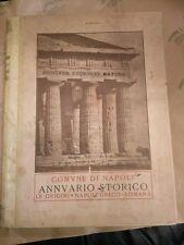 Comune di Napoli. Annuario storico. Parte I. Le origini Napoli greco-romana