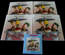 Duck Soup  by Jackie Urbanovic Scholastic Listening Center 4 Book Set with CD