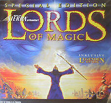 Lords of Magic Jewel Case PC Sierra Impressions VINTAGE RETRO OOP HTF RARE CLASS