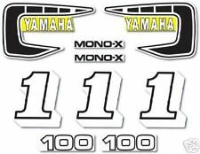 YAMAHA 1981 YZ100 COMPLETE DECAL GRAPHIC KIT LIKE NOS