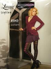 COLLANT CALZA DONNA WOMAN LEVANTE ART.E043 T.1/2 COL.NERO - 80 DEN 88 DTEX