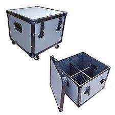 """New TUFFBOX ROAD CASE for 4 PAR 56 CANS - 1/4"""" Medium Duty w/Wheels"""