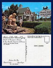 CANADA QUEBEC ST JEAN PORT-JOLI EXTERIOR ATELIER D'ART MARCEL GUAY CIRCA 1970