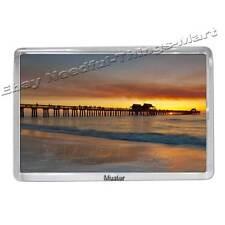 Souvenir magnete foto-Naples Pier Florida-foto MAGNET 5mm ACRILICO [m2] NUOVO