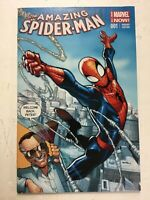 The Amazing Spiderman Marvel Variant Edition #001 Stan Lee Welcome Back Peter