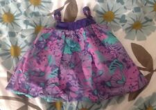 H & M Girls Purple And Turquoise Summer Top Age 3-4 Years 3-4 Anos EU 104cm