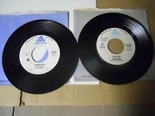 KINKS-RAY DAVIES- 2 PROMO ROCK 45'S- SLEEPWALKER & LIVE LIFE-ARISTA