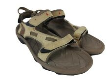 Teva Spoiler Men's Size 14 Hiking Sport Sandals Beige Tan Leather