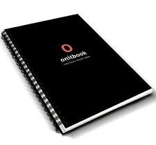 A5 Academic Notebook ONITBOOK for University Students 5-Subject 300Pages Squared