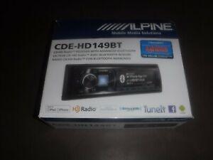NEW Alpine Car Stereo Alpine CDE-HD 149BT CD/HD Advance Bluetooth iPhone