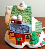 "Avon Santa Town  ""Elves Workshop"" Gift Collection Original Package 1994 Vintage"