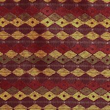 1.875 YDS Duralee Geometric 90827 CORDOVAN Home Decor Sewing Upholstery Fabric