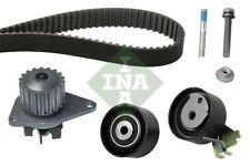 PEUGEOT 207 1.4 Timing Belt & Water Pump Kit 06 to 13 KFU(ET3J4) Set INA 0816H5