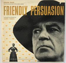 FRIENDLY PERSUASION Film Soundtrack Dimitri Tiomkin 1956 LP Unique Records VG++