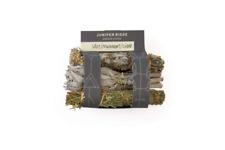 Juniper Ridge Smudge Sticks - Mini 3 Pack - Sage Mugwort Cedar - Variety