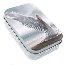 Spirit Guide By Anne Stokes Small Metal Tin, 1oz Tobacco, Jewellery, Pills, -