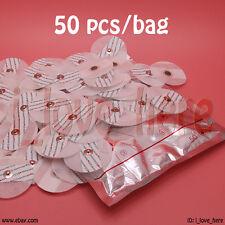 Elettrodo Pads portatili HANDHELD HOME Elettrocardiogramma ECG Heart Monitor macchina 50 PC/pack