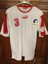 Puma Danone World Nations Cup 2008 Jersey # 3 Football Soccer Men's M Vintage