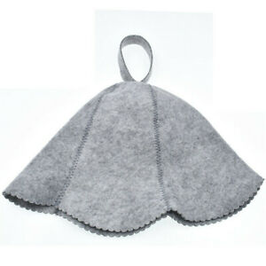 Women Felt Sauna Hat Gift For Bath Water Absorption Accessories House Shower Cap