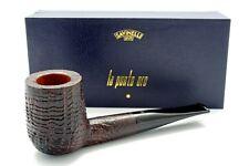 SAVINELLI PUNTO ORO SANDBLASTED 141 CLASSIC BILLIARD 9MM PIPE * NEW in BOX *