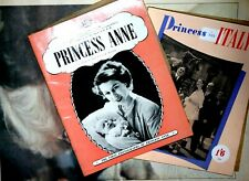 Rare Royalty Princess Anne and Queen Books Ephemera Collection Diana Tribute Set