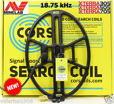 "New CORS CANNON 14.5""x10.5"" DD coil 18.75 kHz for Minelab X-Terra 305/505/705/74"