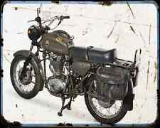Ducati Condor 350 Militare  1 A4 Metal Sign Motorbike Vintage Aged