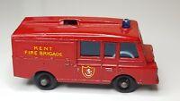 VINTAGE 1966-69 Matchbox Lesney - LAND ROVER FIRE TRUCK No. 57 -  Kent Fire UK