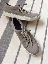 Lanvin Cap-Toe Sneakers Beige  Size UK9 US 10 Men's