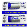 2 x Vinnic L1325F 4LR44 batteries Alkaline 6V A544 PX28 FREE Shipping EXP:2021