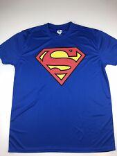 DC Comics Classic Superman LOGO T-SHIRT Holloween ROYAL BLUE XL