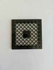 Lego Black Modified Plate 8x8 with Grille 4151