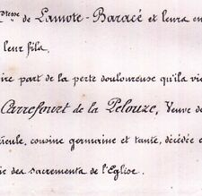 Catherine Carrefour De La Pelouze Achard De La Haye 1860