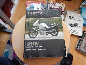 Clymer BMW K SERIES 1985-1997 Service-Repair-Manual (M500-3) K75 K100 K1100 K1