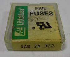 Little Fuses 3Ab 2A 322 Qty-5
