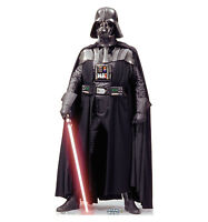 Darth Vader Talking Star Wars Lifesize Cardboard Cutout Standee Stand Up Cut Out