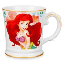 DISNEY STORE ARIEL Signature 12 oz. Coffee Tea Mug New LITTLE MERMAID Hibiscus