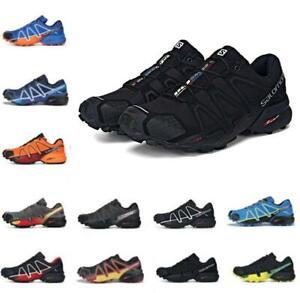 men's Salomon Speedcross 4 Athletic Running Sports Outdoor Hiking Shoes