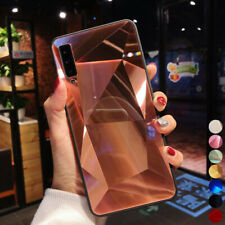3D Diamante Brillante Funda Dura para Samsung Galaxy S10 A50 A70 A9 A7 2017 Plus