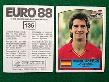 EURO 88 1988 n 135 SPAGNA PORTLAN CHENDO  Figurina Sticker Calciatori Panini NEW