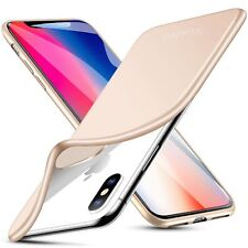 *WHOLESALE LOT* iPhone XS / X Case Premium TPU Slim Matte Skin -FREE US SHIPPING