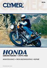 CLYMER REPAIR MANUAL Fits: Honda CB650SC Nighthawk,CB650,CB650C Custom M336