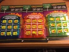 Tic Tac Toe Travel Game - Great for Children! - Great Travel Fun! - Tic-Tac-Toe