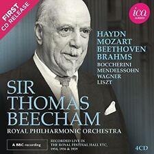 Sir Thomas Beecham Live [New CD] 4 Pack