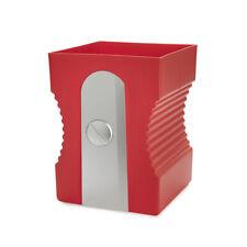 Balvi Cestino getta carta Sharpener temperino rosso plastica