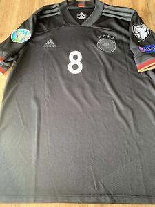 Adidas DFB Deutschland Herren Auswärts Trikot Kroos  Schwarz Gr.XL  *Wie Neu*