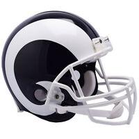 LA RAMS NEW 2017 RIDDELL NFL FULL SIZE AUTHENTIC PROLINE FOOTBALL HELMET