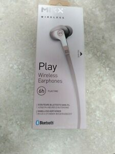Mixx Play 1 Bluetooth Wireless Earphones - Rose Gold New