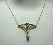 Yellow Gold Necklace/Choker Art Nouveau Fine Jewellery